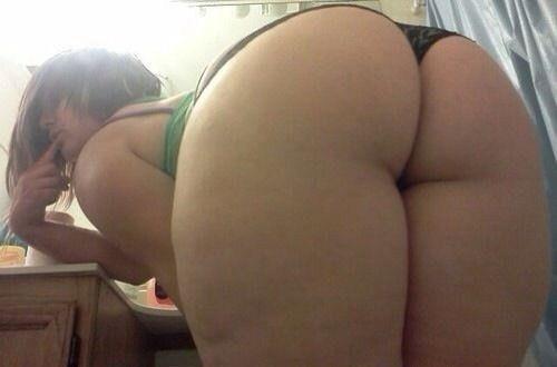 Порно фото большая попка в трусиках