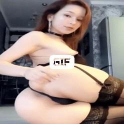 Порно гиф сексуальная азиатка в горячем нижнем белье