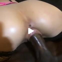 Порно видео замедленный трах черного и белой сучки